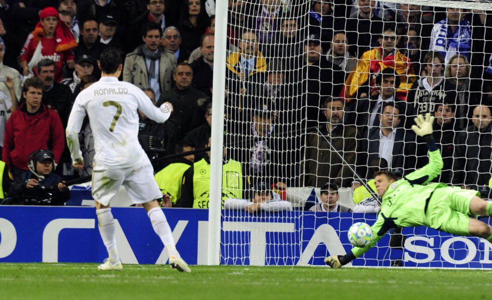 Cristiano Ronaldo Falha Penalty