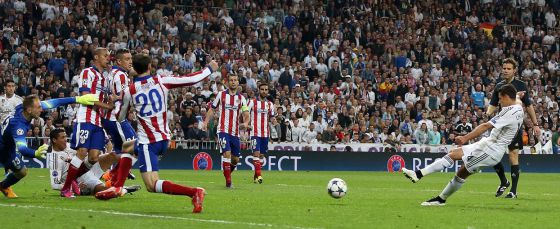 Real Madrid-Atletico: gol de Chicharito